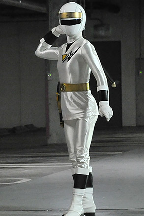 スーパー戦隊最強バトル!!出演のレジェンド戦士ニンジャホワイト